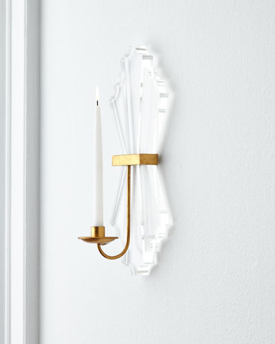 Acrylic Candle Sconce