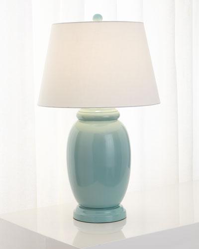 Glossy Ginger-Jar Lamp