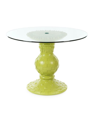 Sunflower Chartreuse Outdoor Table