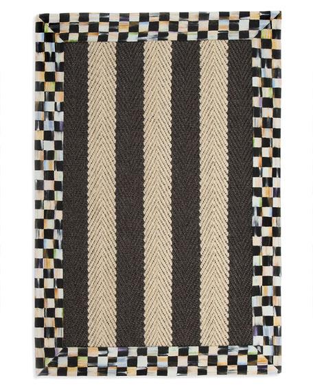 MacKenzie-Childs Stripe Rug, 2' x 3'