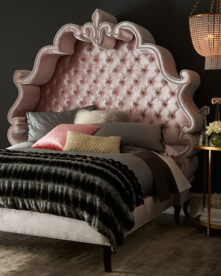 Maria Tufted California King Bed