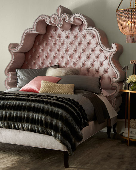 Maria Tufted King Bed