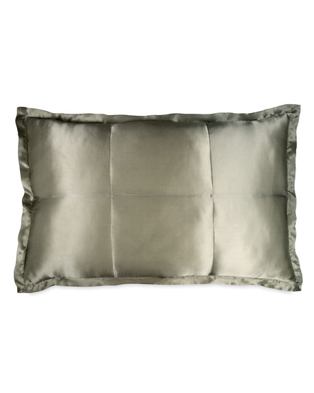 Standard Collection Quilted Silk Sham