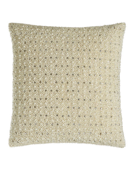 "Puri Blush Pillow, 18""Sq."