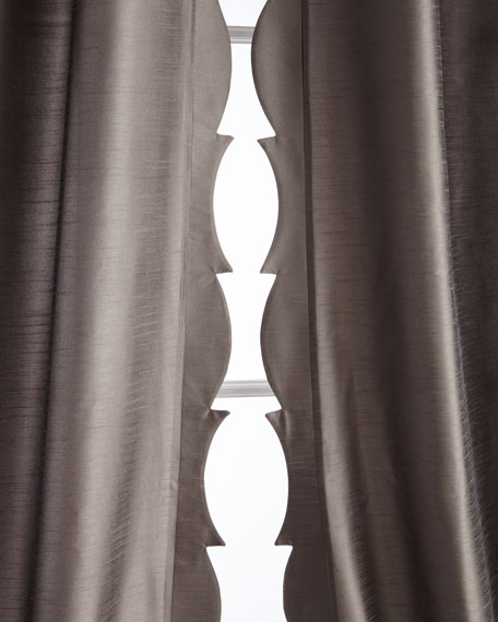 "Pair of 50""W x 96""L Juliana Curtains"