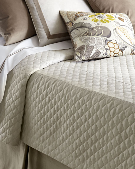 Queen Jefferson Quilted Bed Cap