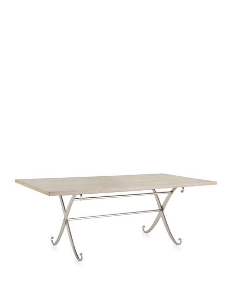 Gant Metal-Base Dining Table