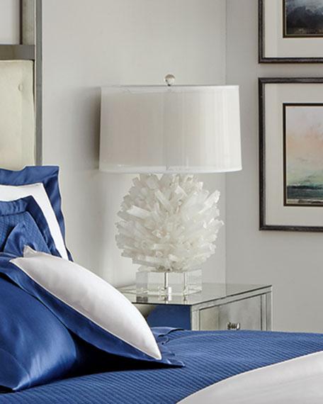 Selenite Table Lamp