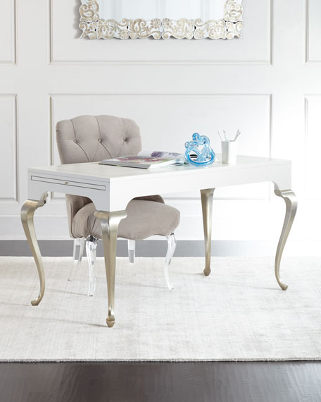 Shelly Vanity Chair Amp Amelie Mirrored Vanity