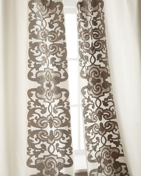 """Two 120""""L Mozart Curtains"""