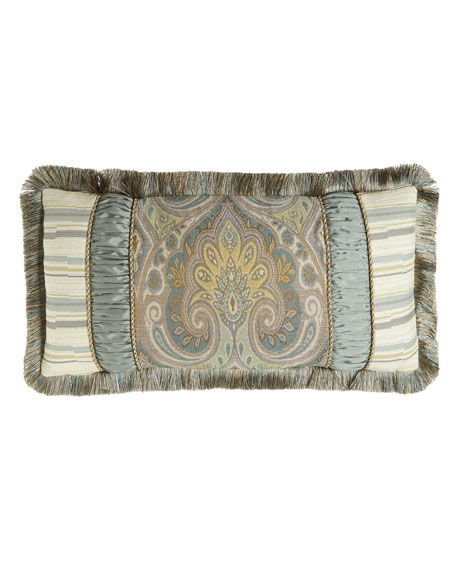 Austin Horn Collection Cannes Pieced Pillow, 13
