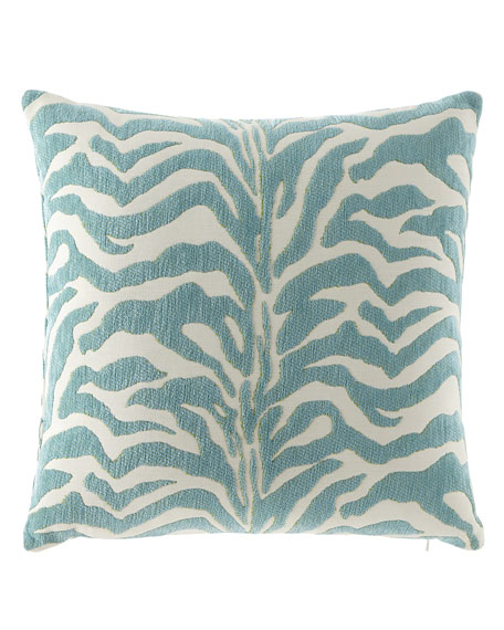 Elaine Smith Zebra-Print Outdoor Pillows