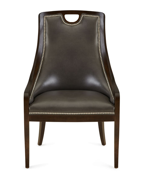 Scottie Leather Dining Chair