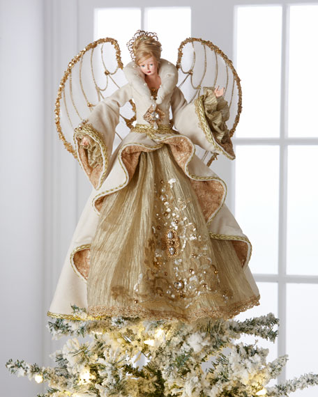 Gilded Angel Heirloom Statue