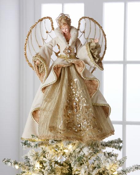 Gilded Angel Heirloom Statue
