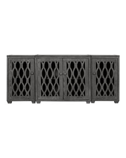 Chaparral Black Entertainment Cabinet