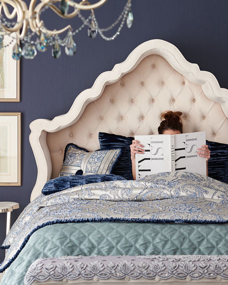 Pantages Hooded California King Bed