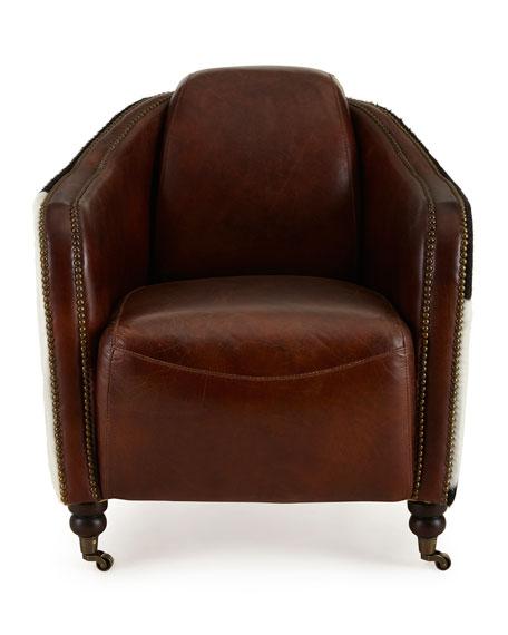 Ramona Leather Club Chair