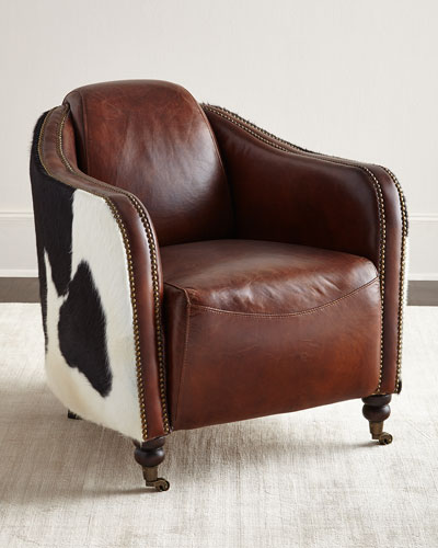 Ramona Leather Club Chair
