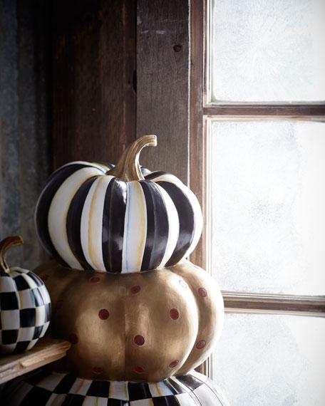 Entryway Stacking Pumpkins