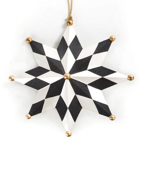 North Star Jumbo Christmas Ornament