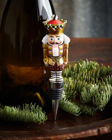 Santa's Workshop Bottle Stopper