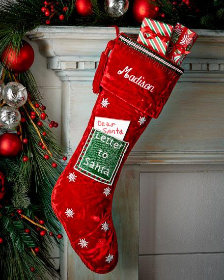 Sudha pennathur letter to santa christmas stocking spiritdancerdesigns Gallery