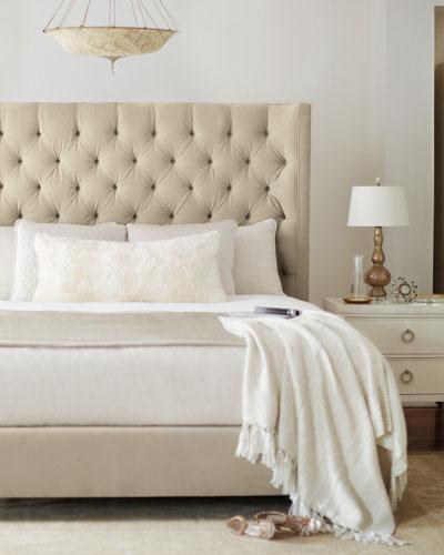 Audrey Tufted Queen Bed