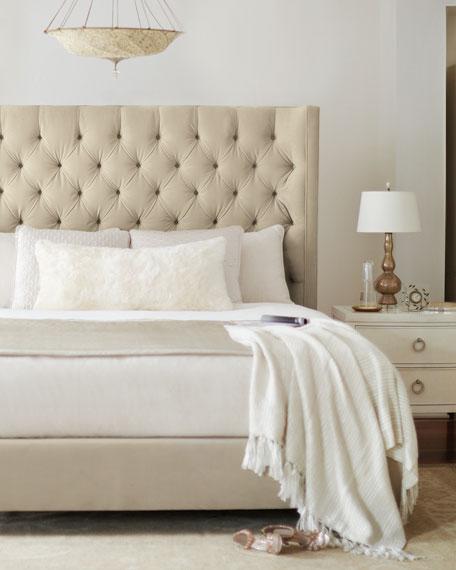 Bernhardt Audrey Tufted Queen Bed