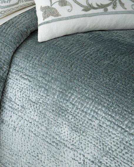 Callisto Home King Aleksi Pick-Stitch Coverlet