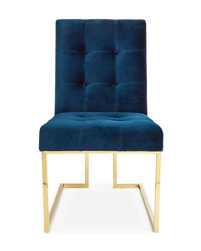 Goldfinger Navy Dining Chair