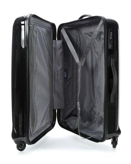 """Riccione Black 30"""" Spinner Luggage"""