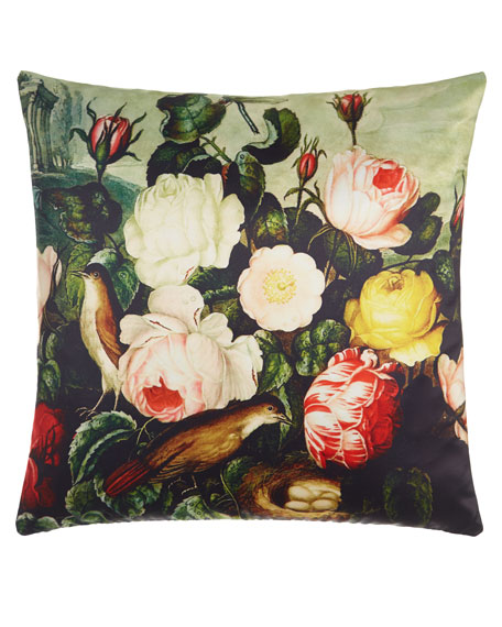 Poetic Pillow Thornton Roses Pillow