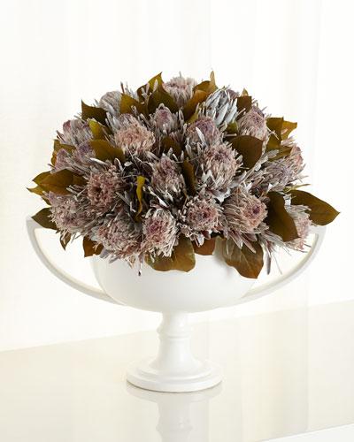 Regal Proteas Faux-Floral Arrangement