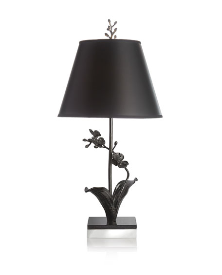 Black Orchid Table Lamp