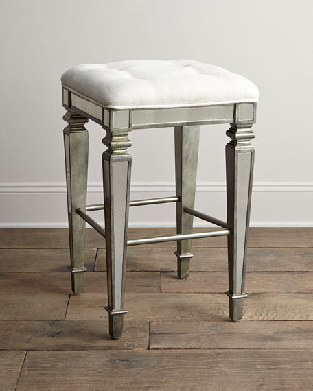 Garbo Mirrored Counter Stool