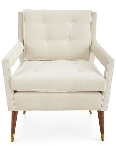 Morris Tufted Back Chair