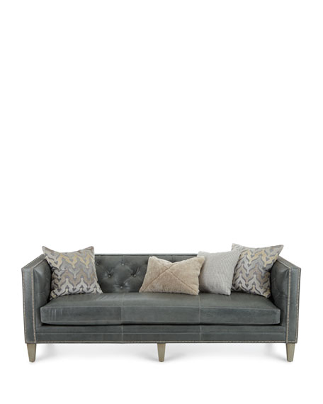 McQueen Leather Sofa