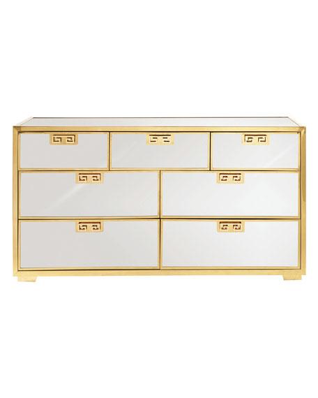 Continental Mirrored Dresser