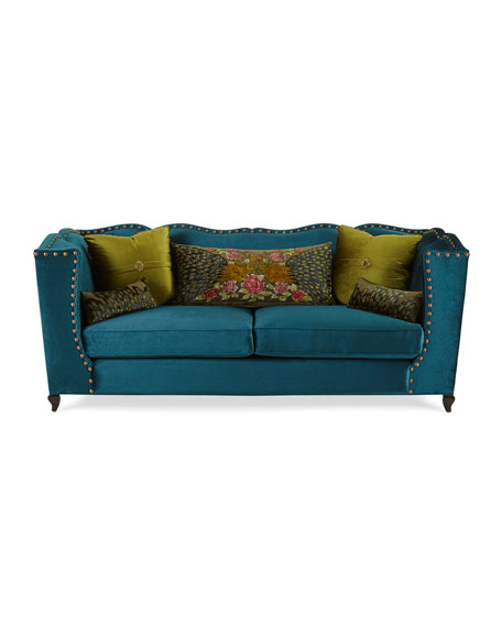 """Santiago Peacock Sofa 92"""""""
