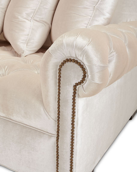 Divine Tufted Left Chaise Sectional 157""