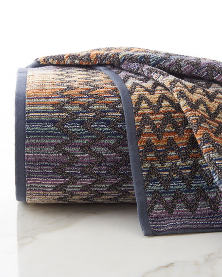 Missoni Stan Hand Towel: Missoni Home Rex & Stephen Towels