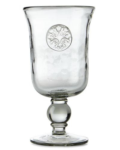 Medallion Water Goblets, Set of 4