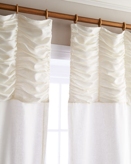 "Each 96""L Claribel Curtain"