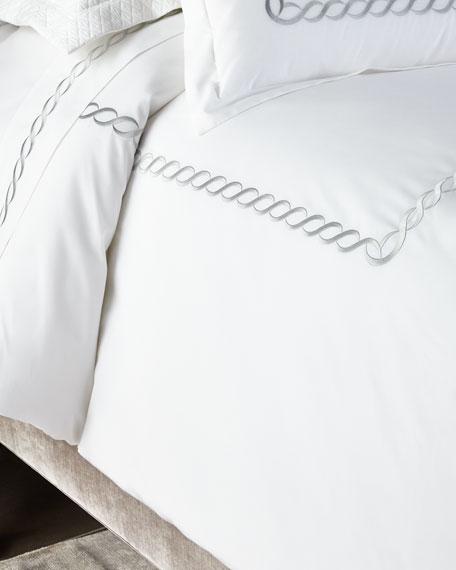 Kassatex Full/Queen Catena Duvet Cover