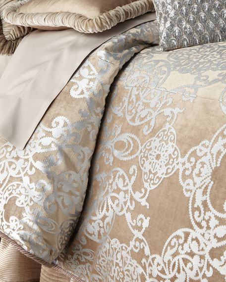 Dian Austin Couture Home Queen Gretta Duvet Cover