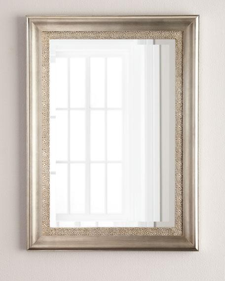 Silver-Framed Mirror