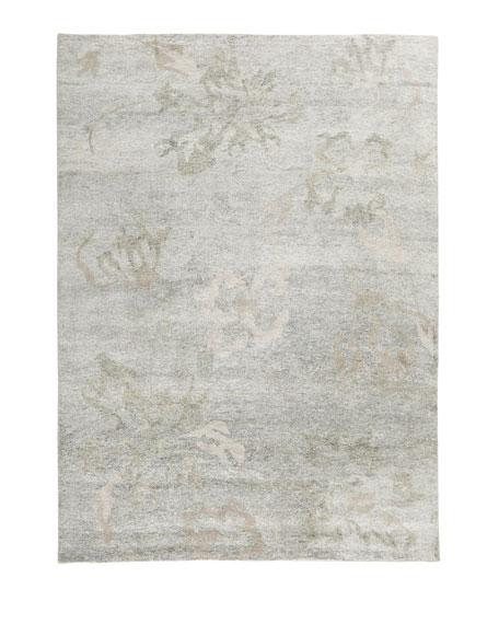 Silver Meadow Rug, 9' x 12'