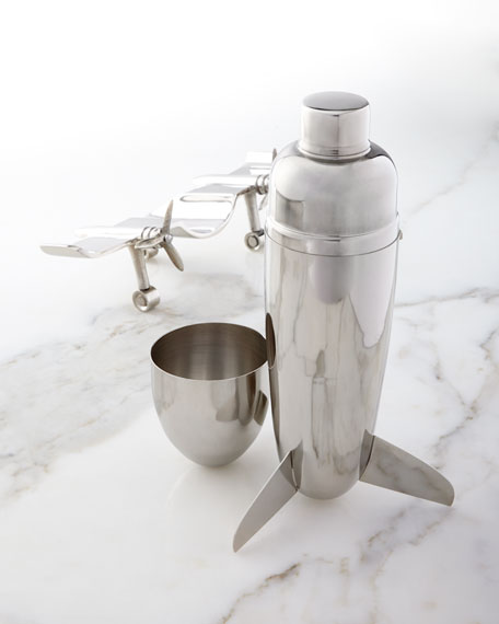 Airplane Cocktail Shaker