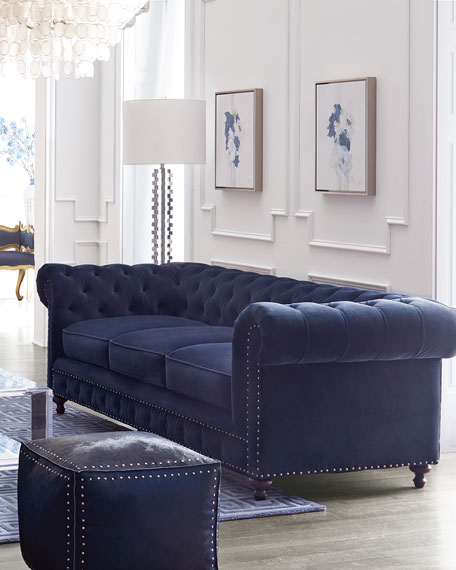Tia 3-Cushion Chesterfield Sofa 98